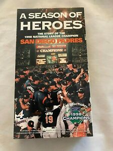 San Diego Padres 1998 Nl Baseball Champs Un Saison De Heroes VHS Bande