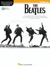 """""""THE BEATLES INSTRUMENTAL PLAY-ALONG"""" FOR VIOLA-MUSIC BOOK/AUDIO ACCESS-NEW-SALE"""