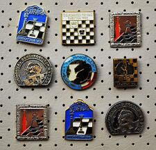 VINTAGE CHESS PINS-Lot of 9