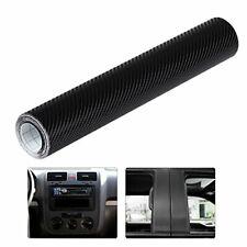 Rouleau Film Autocollant 4D Fibre Carbone Interieur Plastique Voiture 30 x 300CM