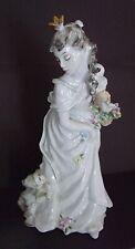 "Beautiful, Mint, Rosenthal Pocelain ""Swow White"" With A Dwarf Figurine-#7012"