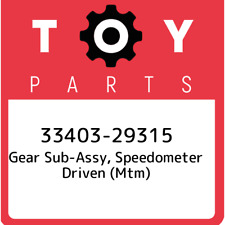 33403-29315 Toyota Gear sub-assy, speedometer driven (mtm) 3340329315, New Genui