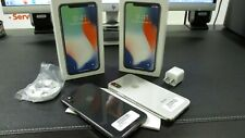 New Original Apple iphone X Unlocked GSM 256GB Space Gray Silver White phone