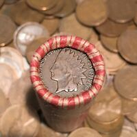 ✯ (1859-1958) Lincoln Wheat & Indian Cent Penny Rolls ✯