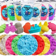 Magic Motion Moving Crazy Play Sand Modelling Mould Full Colour Kids Toy Gift 5d