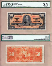 1937 $50 KGVI Bank of Canada; Scarcer OSBORNE & Towers BC-26a.  PMG VF25
