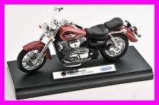 Blitz envío Kawasaki Vulcan 1500 Classic rojo 1:18 Welly moto modelo nuevo
