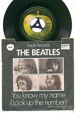 THE BEATLES  -  LET IT BE  -  YOU KNOW ME  -  YUGOSLAVIA  JUGOTON  7'' SINGLE