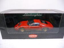 Kyosho 08312R 1:18 Lamborghini MIURA P400 rot TOP in OVP