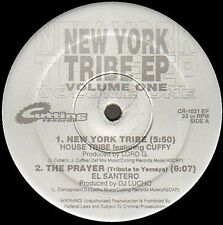 VARIOUS (NORTY COTTO / LORD G DJ LUCHO / RAY ABRAXAS) - New York Tribe Ep