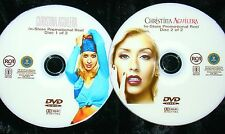 CHRISTINA AGUILERA In-Store Promotional Music Video Reel 2 DVD Set FREE SHIPPING