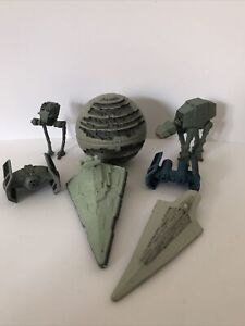 7 Star Wars Galoob Micro Machines Imperial Ships