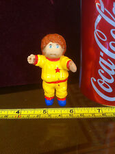 Cabbage Patch Kids 1984 Baby Doll Yellow Red Star Jump Suit Foot Damage