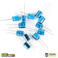 24 x Lelon 100uF//MFD 35V ±20/% 85C Radial-lead Electrolytic Capacitor 2721028 NEW