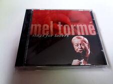 "MEL TORRE ""SINGS FOR LOVERS"" CD 13 TRACKS COMO NUEVO"