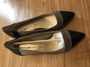 Anne Klein Women Shoe iflex Mckinley Size 6.5M Taupe