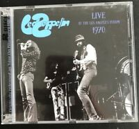 "LED ZEPPELIN : ""Live Los Angeles Forum 1970"" (RARE 2 CD)"
