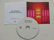 PAUL MCCARTNEY QUEENIE EYE PROMO CD Beatles