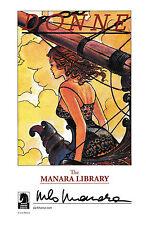 Rare et superbe carte Manara Library
