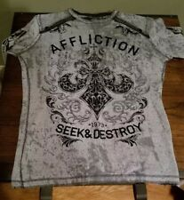 Men's Large Affliction Thermal (reversible)