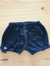 no added sugar 12 months Denim shorts