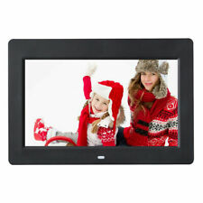 "10"" IPS LCD Digital Photo Frame Calendar Clock Function MP3 Photo Video w Remote"