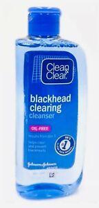 Clean & Clear Blackhead Clearing Cleanser 200ml Clear Prevent Blackhead