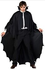 Long Vampire Cape With Foam Filled Collar Adult Size