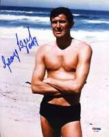GEORGE LAZENBY JAMES BOND PSA DNA Cert Hand Signed 8x10 Photo Autograph