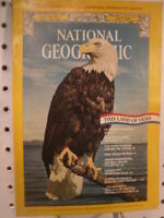 1976 National Geographic Magazine May June July August USA 200 Bicentennial
