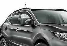 Genuine Nissan Qashqai 2017> Front and Rear Wind Deflector -KE8004E010