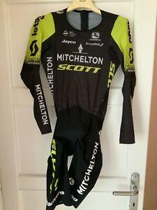 Michelton Scott Giordana TT Time Trial Skinsuit Speedsuit - L