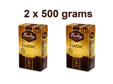 2 x PAULIG Classic Ground Coffee 100% Arabica 2 x 500g 17.6oz