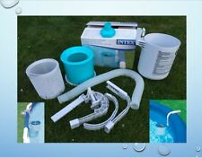 "INTEX Skimmer Easy + Frame Pool ""DELUXE"" Oberflächenskimmer Filter , (K)"