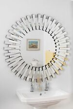 New Wall Mirror Modern 3D Sunburst Design 3Ft 91cm