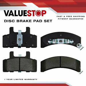 Front Ceramic Brake Pads for Cadillac 60 Special Chevy Astro Dodge Ram 1500 GMC