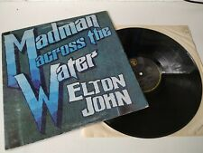 Elton John - Madman Across The Water UK 1971 Translucent Red LP