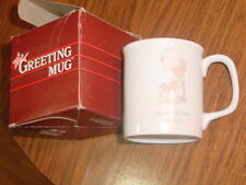 Precious Moments Birthday Cup 1983 Nib