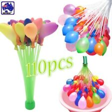 Mixed Color Water Balloons Self Tying Bunch Balloon Bombs Party Toys GBAL80609