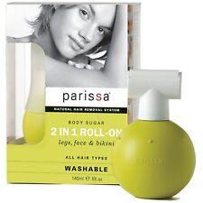 1× Parissa hair removal system Body Sugar 2In1 Roll-On, legs, face, bikini 140ml