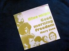 BLUE MINK: GOOD MORNING FREEDOM / MARY JANE~1970~ORIGINAL DUTCH EDITION