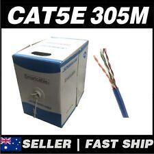 1 x 305m Cat5 Cat5 CAT5e 100Mbps Solid Core Ethernet Network LAN Patch Cable