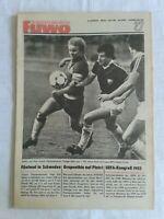 Die Neue Fußball-Woche, Nr. 27, 32. Jahrgang, DDR-Zeitung 1980, Fu-Wo