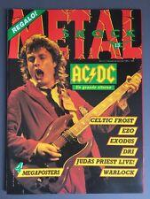 METAL SHOCK - N° 13  -1987 RIVISTA MUSICA CON POSTER -  AC/DC