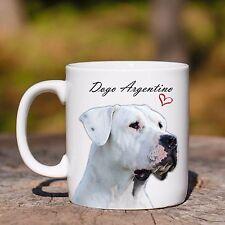 Tazza CANE DOGO ARGENTINO MUG CUORE mod2