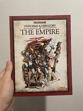 Warhammer Fantasy Uniforms And Heraldry Of The Empire (Hardback) 40k