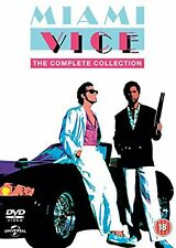 MIAMI VICE The Complete Collection BOX 32 DVD in Inglese NEW .cp