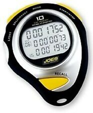 JOES RACING STOPWATCH P/N 28335 10 LAP RECALL FAST LAP BACK LIGHT ROBIC LONGACRE