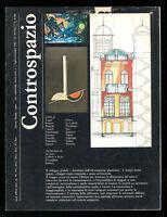 Architettura Controspazio n. 3 luglio settembre 1983