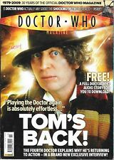 DOCTOR WHO MAGAZINE No. 411 19th Jun 2009 Tom's Back * Tomb of the Cybermen